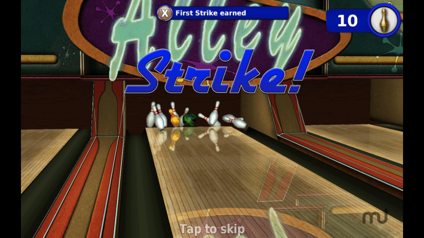 Gutterball - Golden Pin Bowling for Mac - review, screenshots