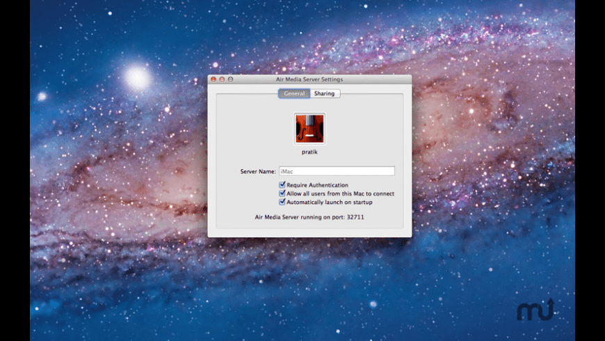 Air Media Server for Mac - review, screenshots