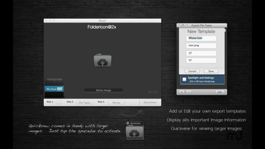 ShipIt! for Mac - review, screenshots