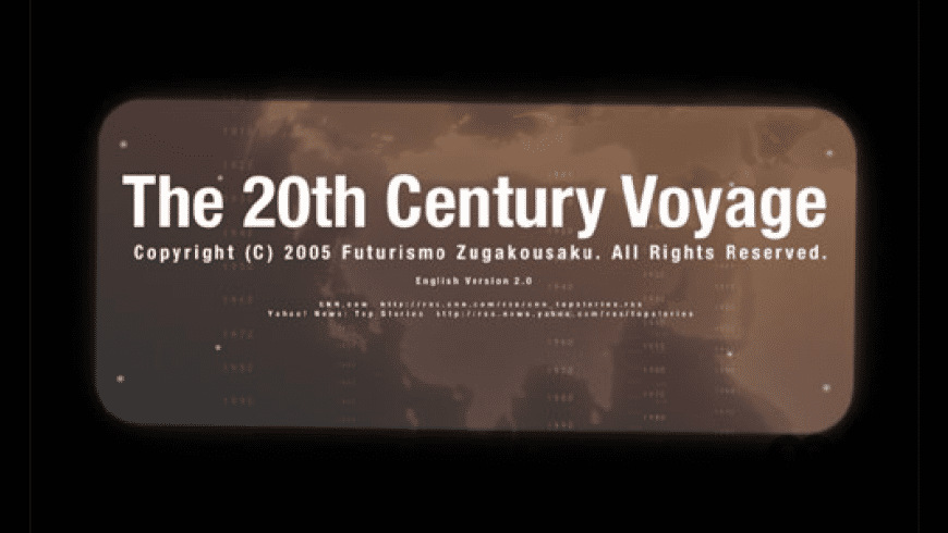 The 20th Century Voyage for Mac - review, screenshots