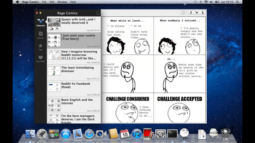 Rage Comics for Mac - review, screenshots
