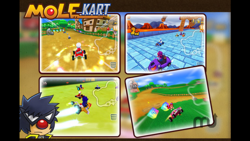Mole Kart for Mac - review, screenshots