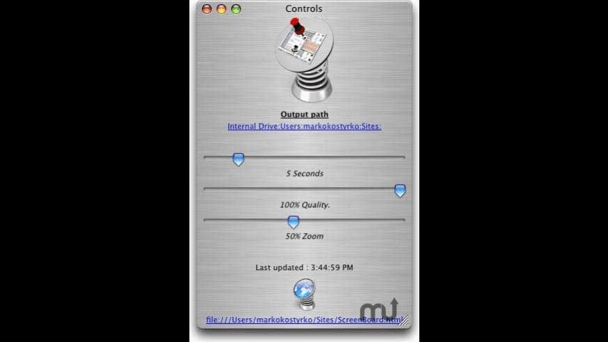 Screenboard for Mac - review, screenshots