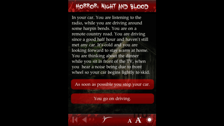 Horror: Night and Blood for Mac - review, screenshots