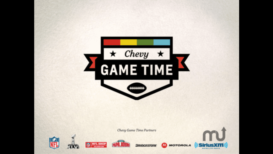 Chevy Game Time for Mac - review, screenshots