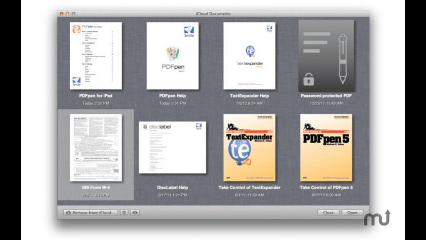 PDFpen Cloud Access for Mac - review, screenshots