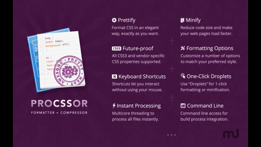 ProCSSor for Mac - review, screenshots