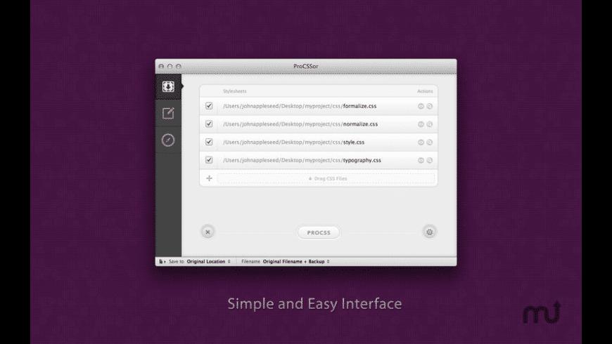 ProCSSor for Mac - review, screenshots