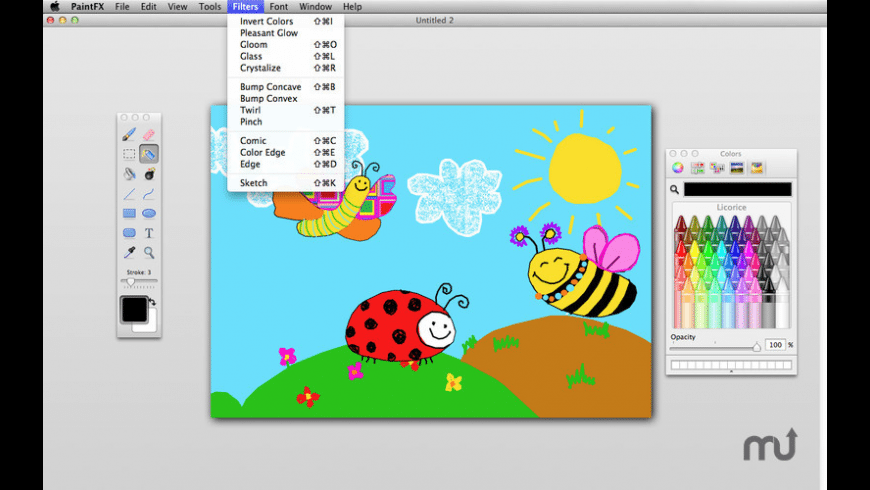 Paint FX for Mac - review, screenshots