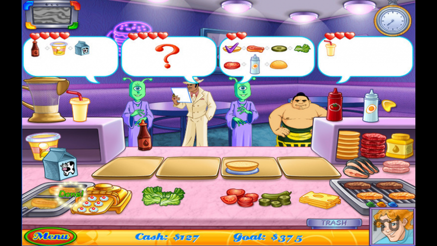 Cake Mania Main Street for Mac - review, screenshots