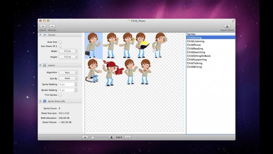 Sprite Master for Mac - review, screenshots