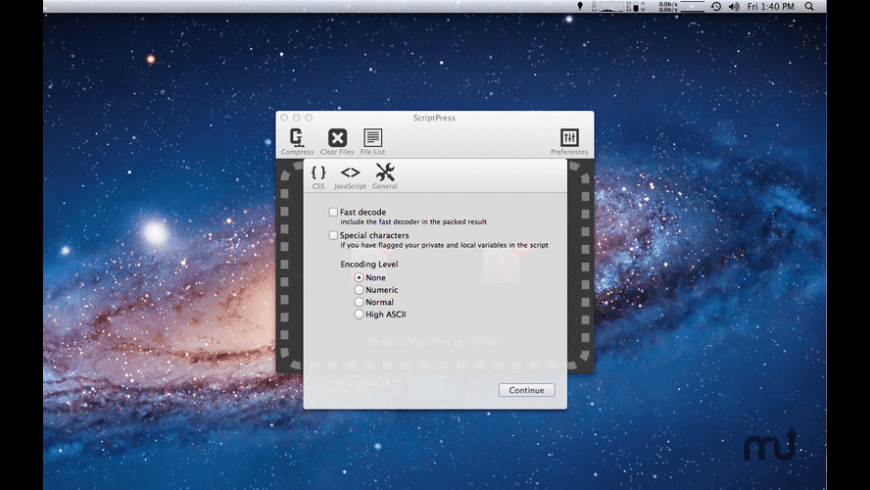 ScriptPress for Mac - review, screenshots