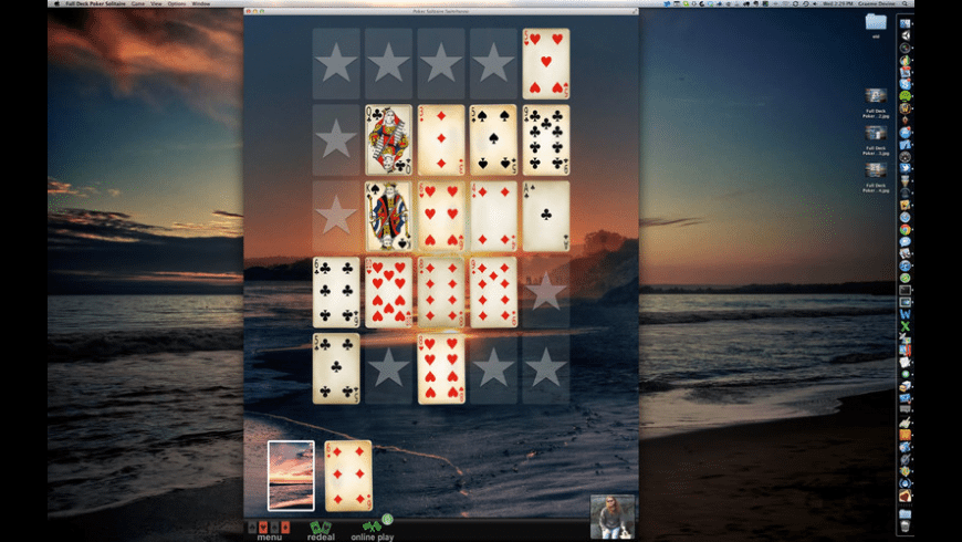 Full Deck Poker Solitaire for Mac - review, screenshots