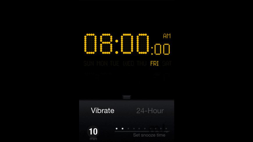 Tap Alarm Clock for Mac - review, screenshots