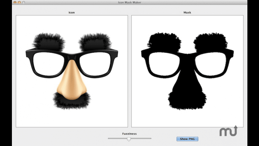 Icon Mask Maker for Mac - review, screenshots