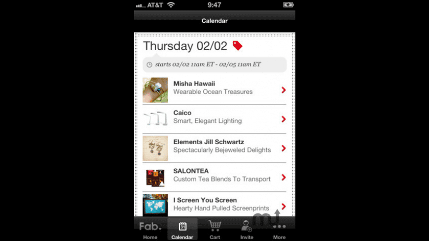 Fab.com for Mac - review, screenshots