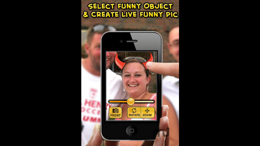 Funny Pic Maker Lite for Mac - review, screenshots