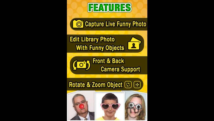 Funny Pic Maker Lite for Mac - review, screenshots