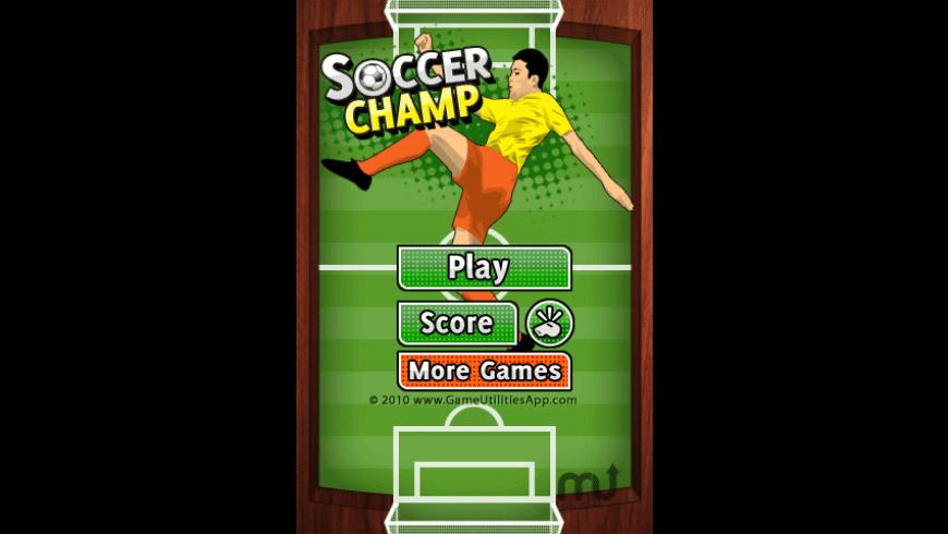 Soccer Champ for Mac - review, screenshots
