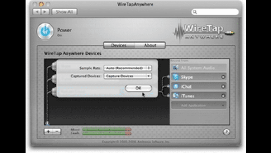 WireTap Anywhere for Mac - review, screenshots