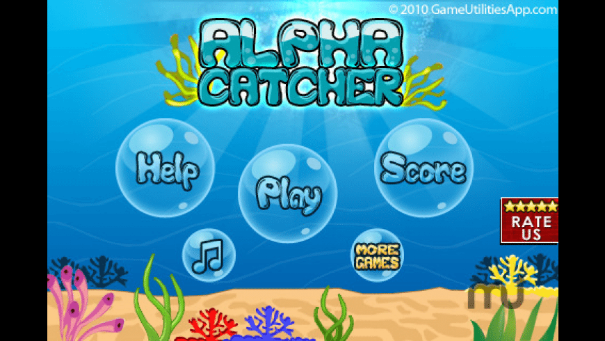 Alpha Catcher - Spelling Edition for Mac - review, screenshots