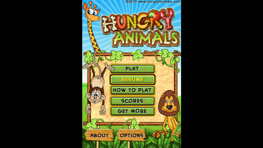 Hungry Animals Lite for Mac - review, screenshots