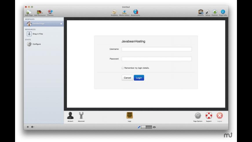Javabean for Mac - review, screenshots