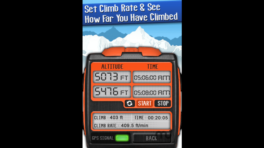 Altimeter Digital GPS for Mac - review, screenshots