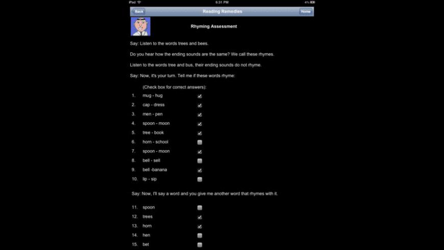 Reading Remedies for Mac - review, screenshots