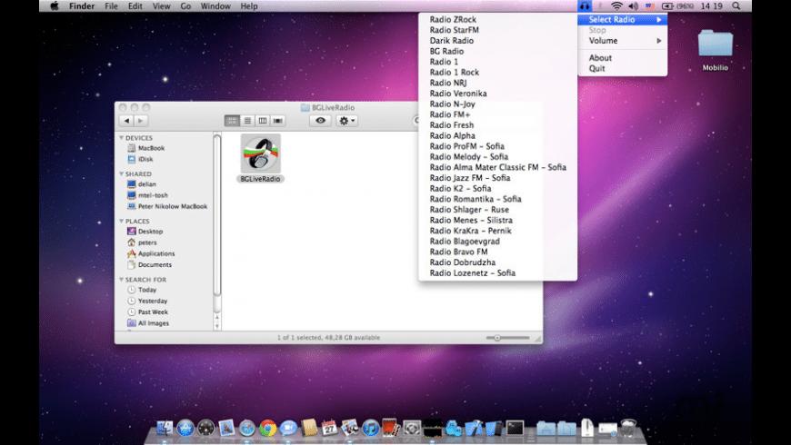 BGLiveRadio for Mac - review, screenshots