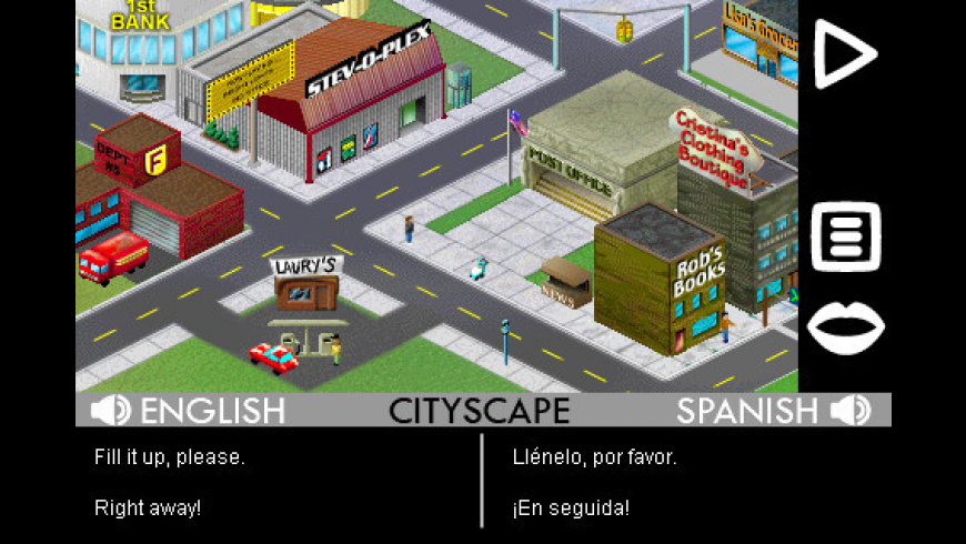 Play & Learn Spanish for Mac - review, screenshots