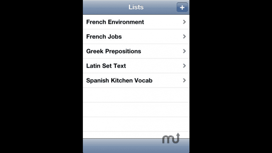 Vocab for iPhone for Mac - review, screenshots
