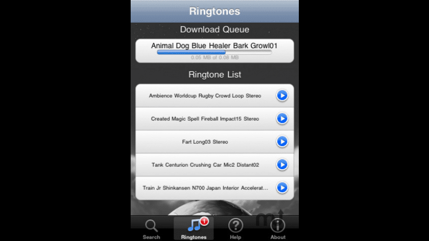 Ringtone Librarian for Mac - review, screenshots