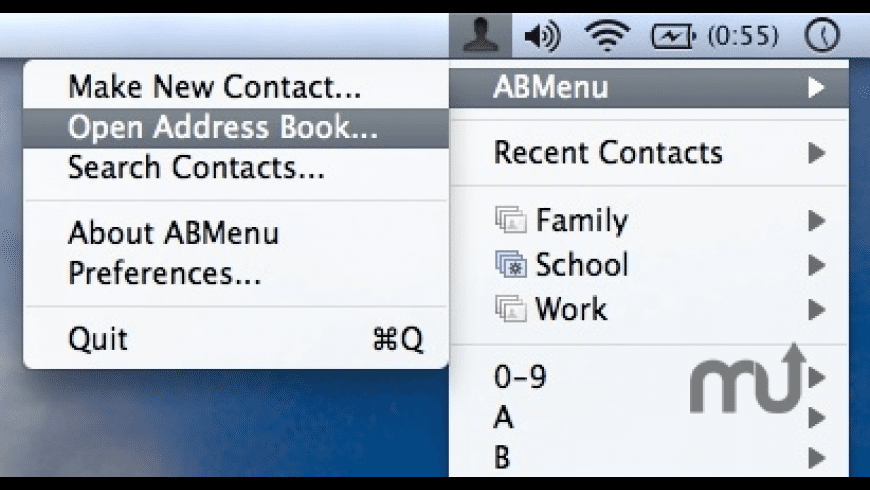 ABMenu for Mac - review, screenshots