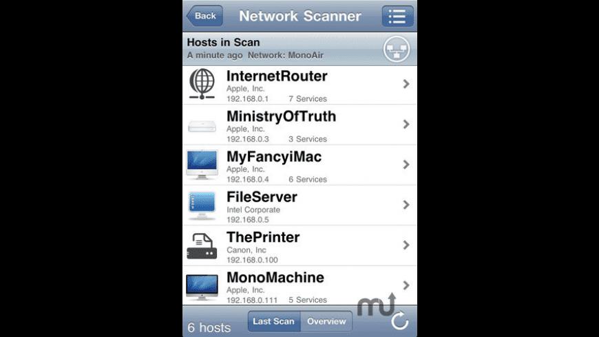iNet Pro for Mac - review, screenshots