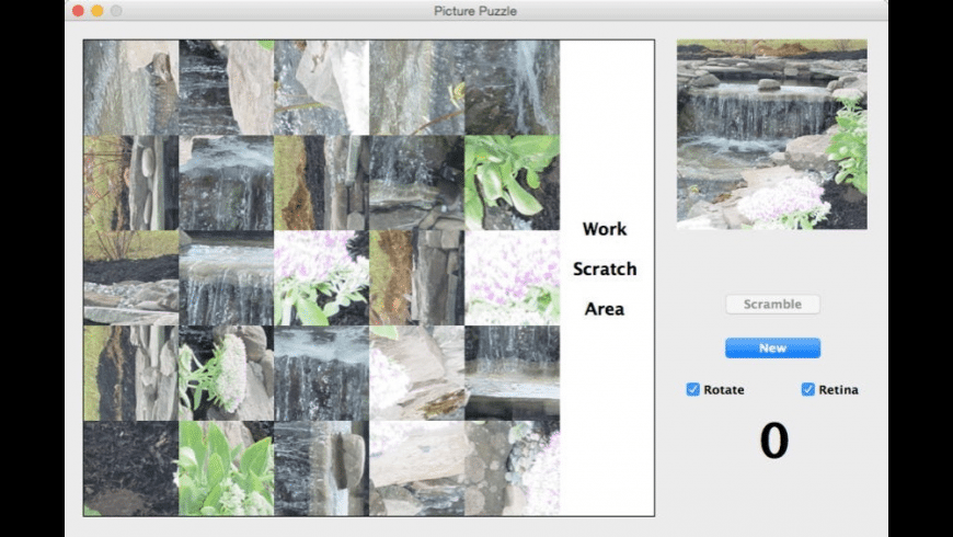 Picture Puzzle for Mac - review, screenshots