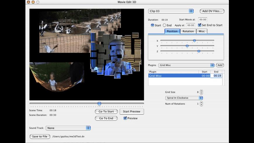 MovieEdit3D for Mac - review, screenshots