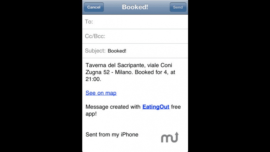 EatingOut for Mac - review, screenshots