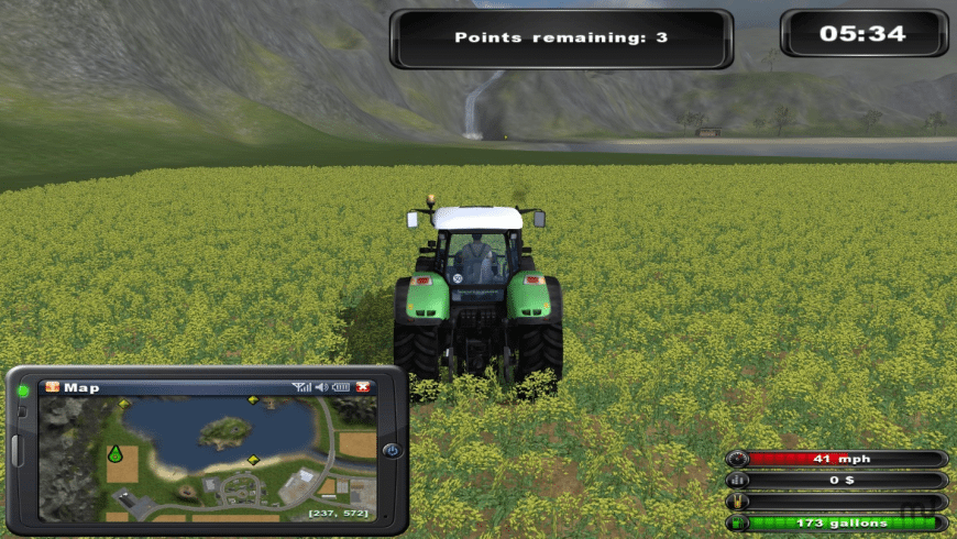 Farming Simulator for Mac - review, screenshots