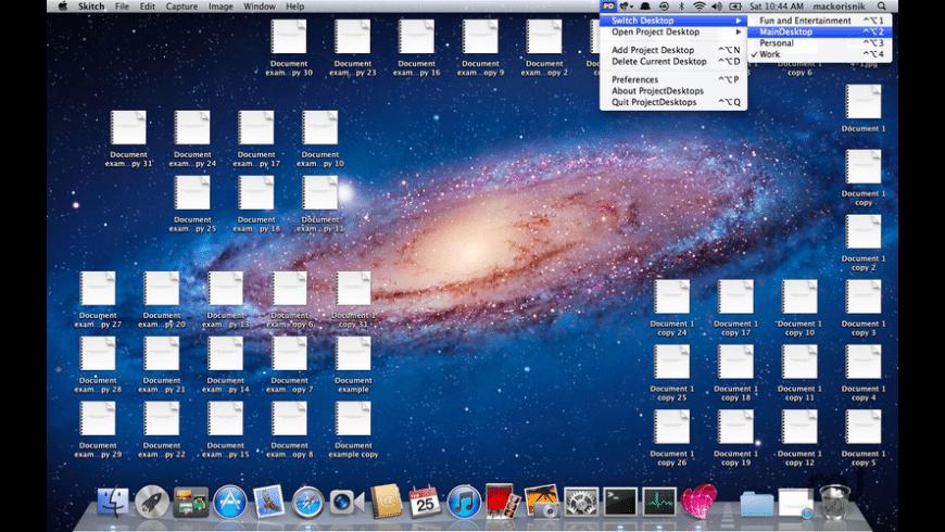 ProjectDesktops for Mac - review, screenshots