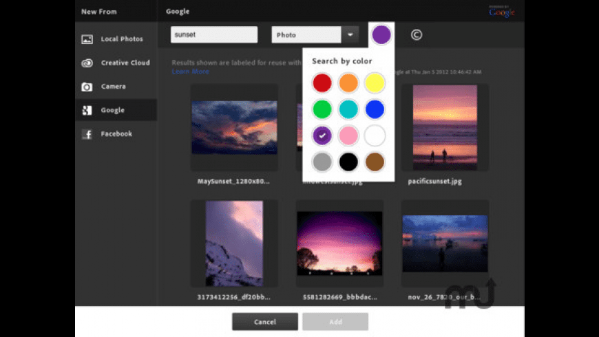 Adobe Photoshop Touch for Mac - review, screenshots