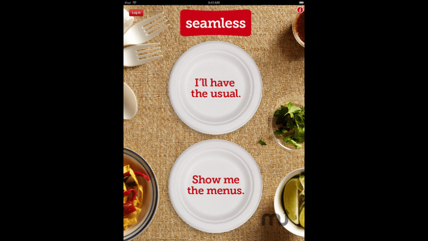 Seamless Food Delivery and Takeout for iPad for Mac - review, screenshots