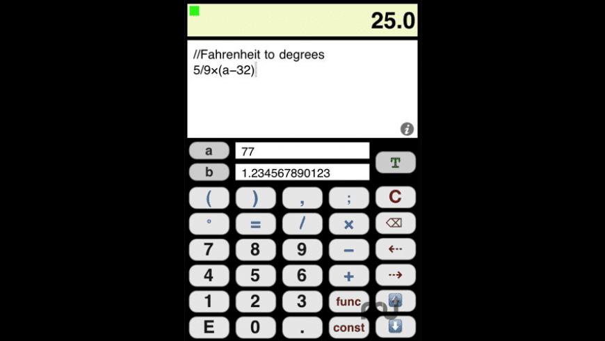 JSCalculator for Mac - review, screenshots