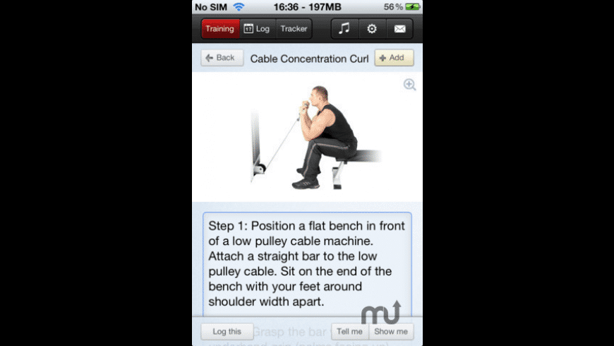 Fitness Trainer for Mac - review, screenshots