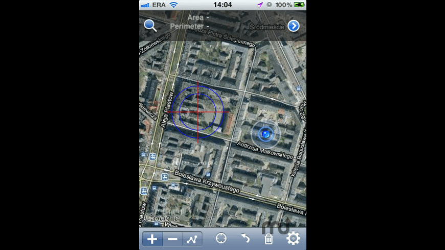 GPS Satellite Measure for Mac - review, screenshots