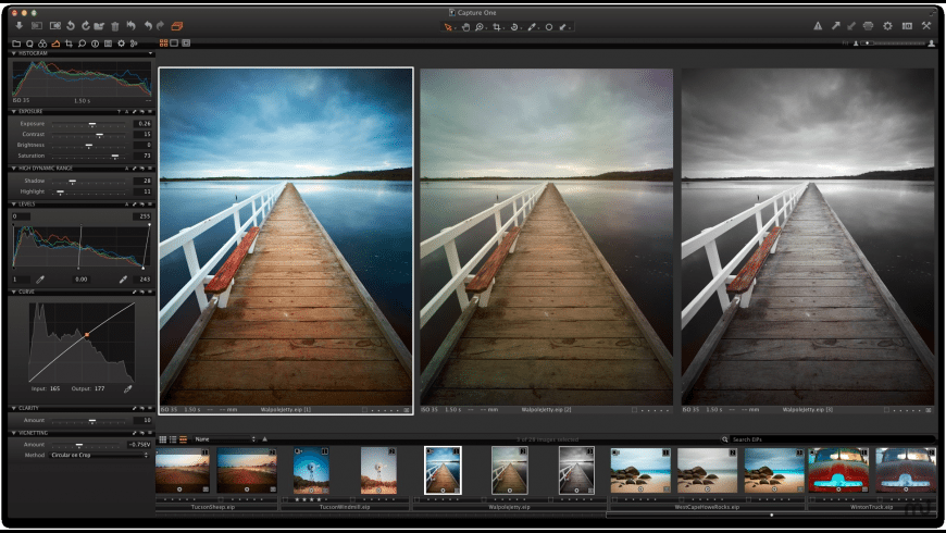 Capture One Express for Mac - review, screenshots