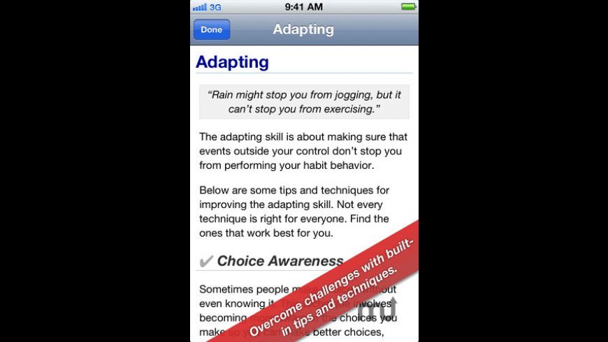 GroHabit for Mac - review, screenshots