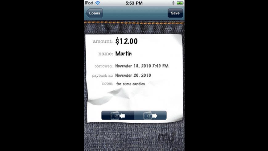 MyLoans for Mac - review, screenshots