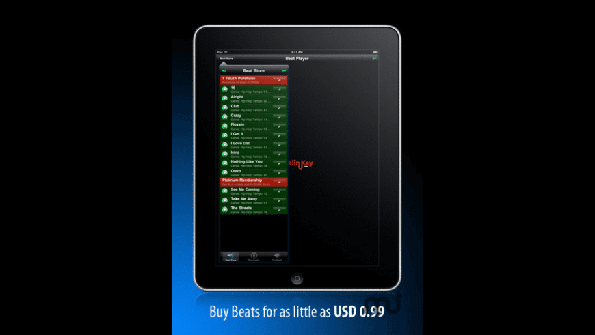 Beat Store (Hip-Hop Edition) for Mac - review, screenshots