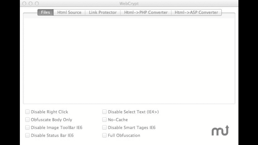 WebCrypt for Mac - review, screenshots